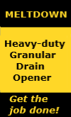 JacksonCo Supply sells Melt Down which is a Heavy-duty Granular Drain Opener